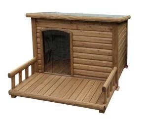 isolierte hundehütte 1