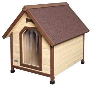 isolierte hundehütte 3