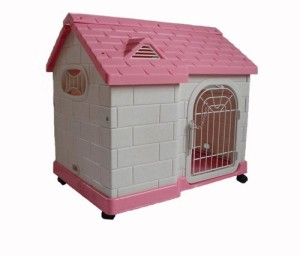 Hundehütte Kunststoff 3