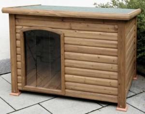 Hundehütte mit Terrasse 12