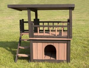 Hundehütte mit Terrasse 4